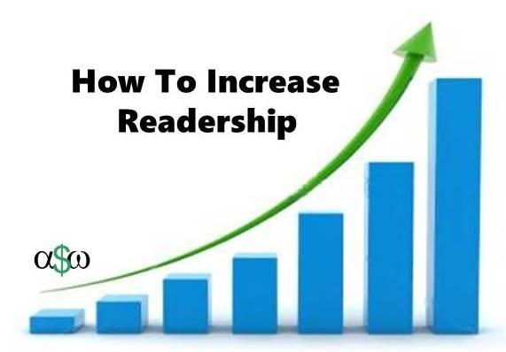 Increase Readership