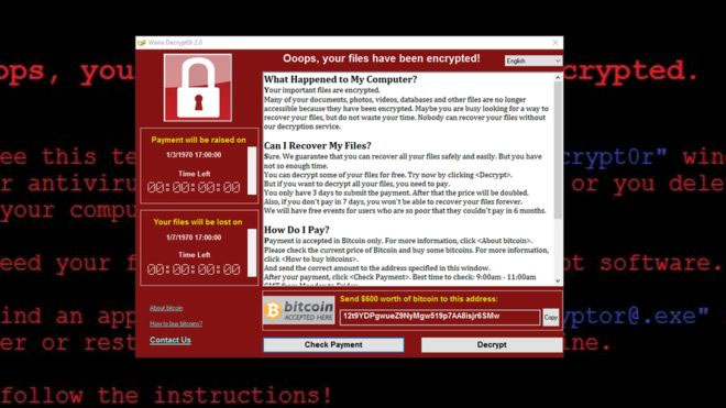wannacry ransomeware